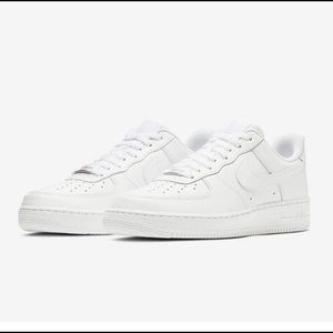 ISO white nike Air Force ones!!!